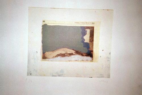 Karl-Felix Marx - -13. Oktober 1986/Mord in Bonn-, Farblithografie, handsigniert, kopen? Bied vanaf 160!