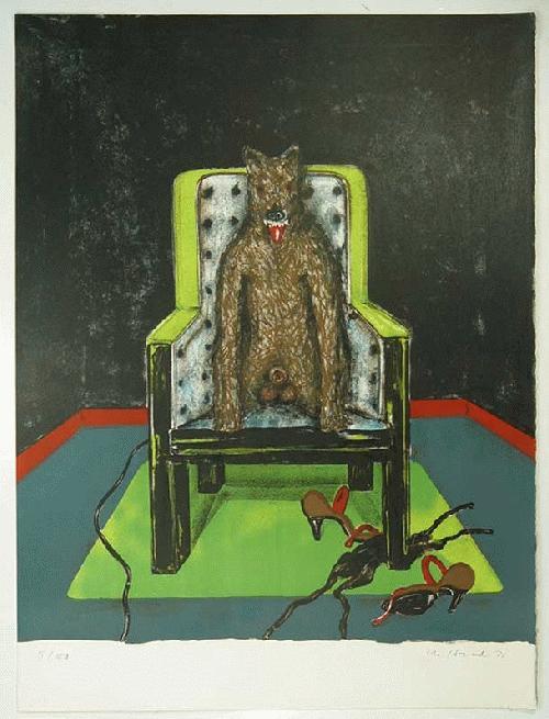 Marvin Israel - -ANECDOTE- Farblithografie auf Bütten, handsigniert und datiert, numeriert kopen? Bied vanaf 160!