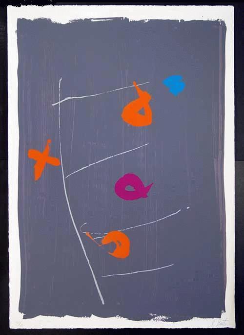 Kikuo Saito - -BEGGAR´S LADDER- großformatige Farbserigrafie auf Bütten, handsigniert, numeriert kopen? Bied vanaf 410!
