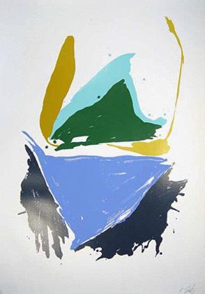 Kikuo Saito - -BLUE FIVE- großformatige Farbserigrafie auf Bütten, handsigniert, numeriert kopen? Bied vanaf 410!