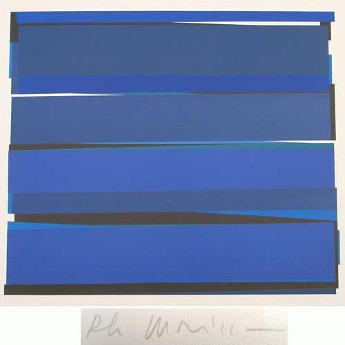 Philippe Morisson - -DISTANCES V- Farbserigrafie auf Bütten, handsigniert, datiert, numeriert kopen? Bied vanaf 280!
