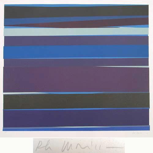 Philippe Morisson - -DISTANCES VI- Farbserigrafie auf Bütten, handsigniert, datiert, numeriert kopen? Bied vanaf 280!
