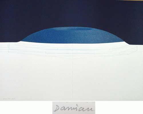 Horia Damian - -GALAXY VIII-, großformatige Farbserigrafie, handsigniert, datiert, numeriert kopen? Bied vanaf 560!
