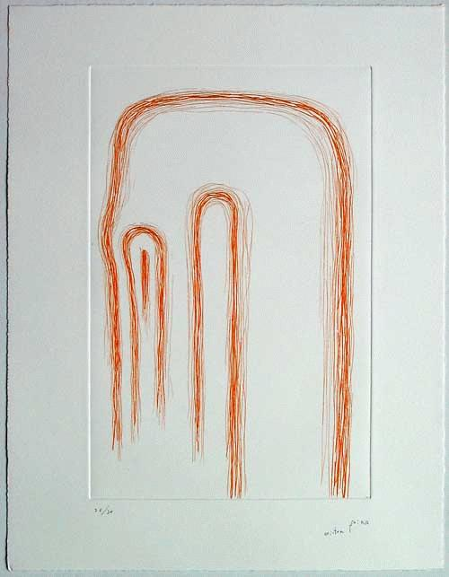 Victor Mira - -HOMBRE HILATURA IV- Radierung auf Bütten, handsigniert, datiert, Auflage 30 kopen? Bied vanaf 390!
