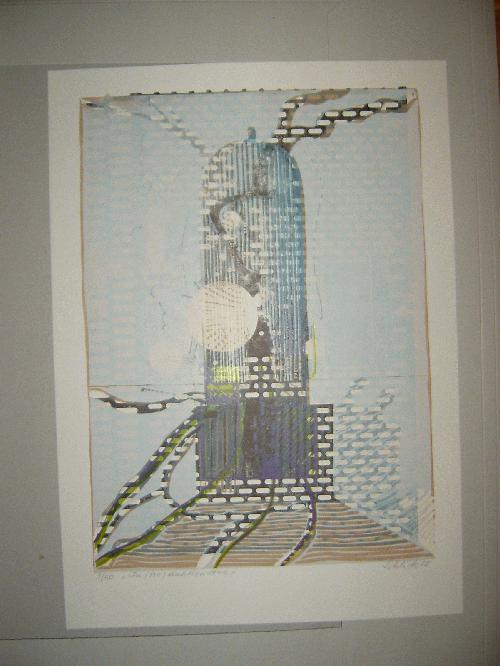 Wolfgang Schlick - -IN(TRO)DUKTION 1945-, Farbsiebdruck, handsigniert, Auflage 50 kopen? Bied vanaf 110!
