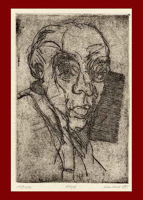 Ralf Lankau - - KOPF - OriginalRadierung des Philologen aus LÜBECK - 1995 num.& signiert & datiert kopen? Bied vanaf 45!