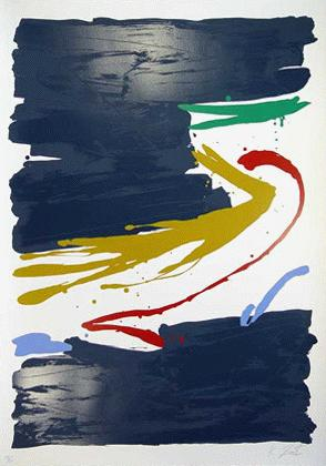 Kikuo Saito - -KURARA PAINT- großformatige Farbserigrafie auf Bütten, handsigniert, numeriert kopen? Bied vanaf 410!