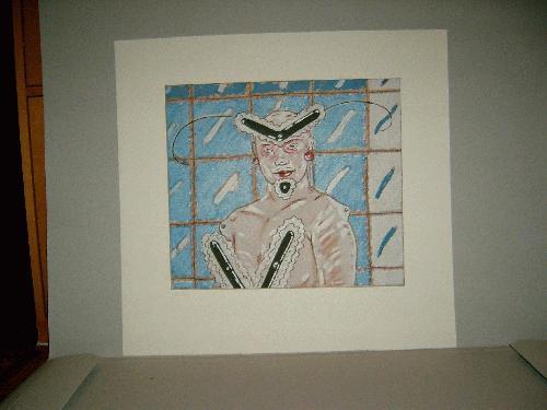 Peter Sengl - -Maskiert-, Farbradierung auf Bütten, handsigniert, datiert, numeriert kopen? Bied vanaf 190!