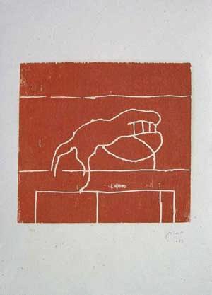 Victor Mira - -o.T.- Farbholzschnitt, handsigniert, datiert, Auflage 12 kopen? Bied vanaf 420!