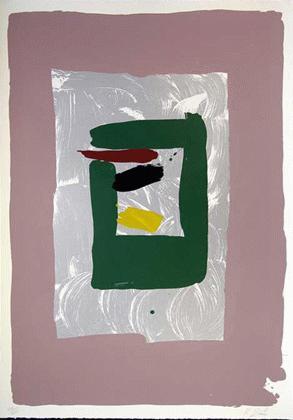 Kikuo Saito - -PINK SQUARE- großformatige Farbserigrafie auf Bütten, handsigniert, numeriert kopen? Bied vanaf 410!