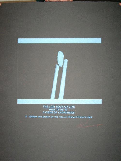 Les Levine - -THE LAST BOOK OF LIFE III- großformatige Farbradierung und Farbserigrafie auf Bütten, handsigniert kopen? Bied vanaf 590!