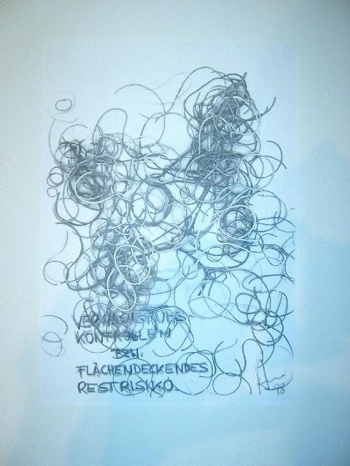Peter Assmann - -VERWACHSTUMSKONTROLLEN- Kopie und Bleistift auf Papier, handsigniert, datiert kopen? Bied vanaf 79!