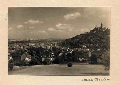 Max Baur - - WERNIGERODE - handsignierte OriginalFotographie des MEISTERs der photographischen MODERNE kopen? Bied vanaf 35!