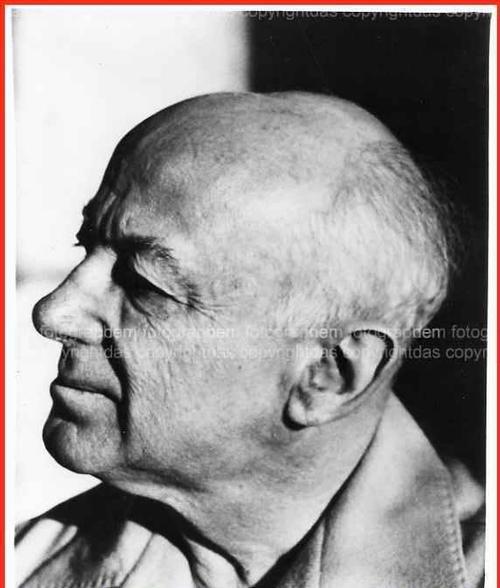 Sidney Cowell - 1959 Signed Portrait of the composer HENRY COWELL teacher of John CAGE (Vintage) OriginalFotographie kopen? Bied vanaf 180!
