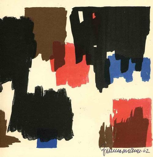 Zimmermann Walter - 1962 - Handsignierte OriginalLithographie des Franz NAGEL Meisterschülers kopen? Bied vanaf 75!
