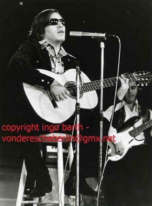 Ingo Barth - 1973 - Handsigniertes Portrait: Jose FELICIANO - Handabzug des Fotographen - VINTAGE kopen? Bied vanaf 95!