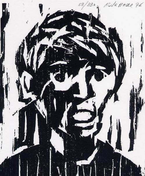 Enric Rabasseda - 1976 - Handsignierter & -num. OriginalHolzschnitt des WUPPERTALer REALISTEN aus BARCELONA kopen? Bied vanaf 45!