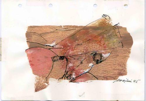Mojkin Prigge - 1995 - Handsignierte Erotische OriginalAcryl&Federzeichnung der HESSIN aus BREMEN (BERLIN & FLORENZ) kopen? Bied vanaf 48!