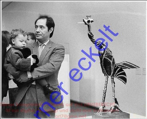 Werner Eckelt - 3 Generationen PICASSO - Claude mit Söhnchen & bemalter BRONZE: KRANICH 1983 NATIONALGALERIE BERLIN kopen? Bied vanaf 140!