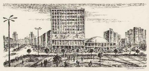 Helmut Maletzke - 3 handsignierte BERLIN-Ansichten des DDR-Kritikers (VERBILDUNG des BEWUSSTSEINS) aus GREIFSWALDE `74 kopen? Bied vanaf 75!