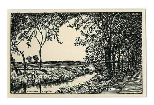 Anton Heydt - 4 Landschaften des RHEINHESSISCHEN Malers in Zinkätzung 1920 (Karlsruhe-Mainz-Monsheim-Worms) kopen? Bied vanaf 65!