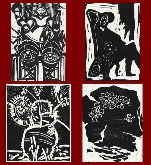 Galerie Nierendorf - 4 Original-Graphiken 1970 Erhard GROSS - Walter KRZYWICKI -Winand VICTOR - Herta NEUMANN kopen? Bied vanaf 25!