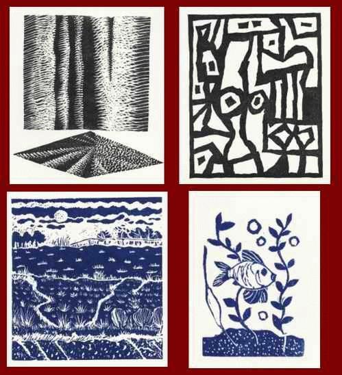 Galerie Nierendorf - 4 Original-Graphiken von Horst HEINEN - Paul HERRMANN - Kat KAMPMANN - Joachim KARSCH kopen? Bied vanaf 30!