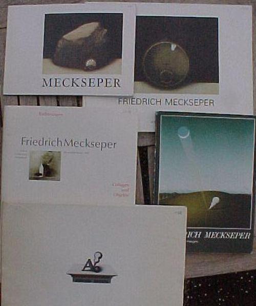 Friedrich Meckseper - 5 schöne Kataloge Ölbilder, Grafiken und Objekte kopen? Bied vanaf 60!