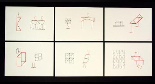 Michel Sauer - 6 Zinkstempeldrucke in einer Mappe mit Text von 1991, jedes Blatt handsigniert kopen? Bied vanaf 195!