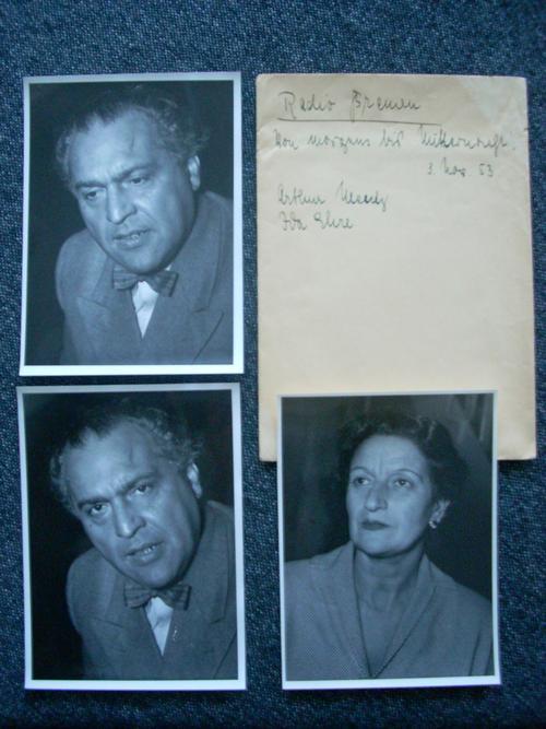Jutta Vialon - 7 Pressefotos von Ida Ehre und Arthur Mentz von 1953 in handbeschriftetem Originalumschlag kopen? Bied vanaf 95!