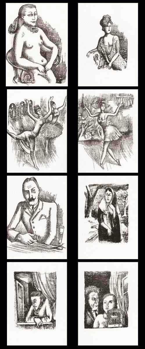August Wilhelm Dressler - 8 Original-Lithographien des Künstlers der NOVEMBERGRUPPE & NEUE SACHLICHKEIT - 1967 kopen? Bied vanaf 40!