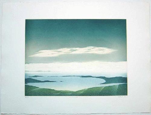 Jean Solombre - - A CIEL OUVERT - Farbradierung auf Büttenpapier, handsigniert, betitelt und numeriert, 1986 kopen? Bied vanaf 220!