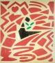 Udo Kaller - Abstrakte Komposition, sign. Farbholzschnitt, 1995. kopen? Bied vanaf 40!