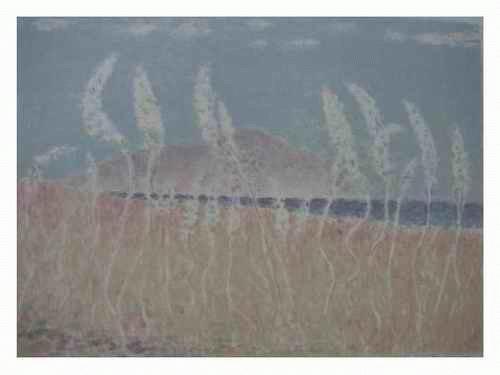 Leonhard Meisser - - ÄHREN FELD - Original Farblithographie des André LHOTE-Schülers a.d. SCHWEIZ handsigniert & num: kopen? Bied vanaf 75!