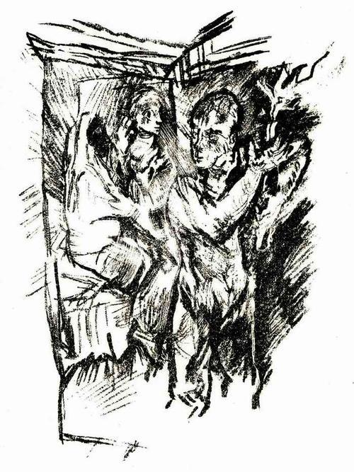 Oskar Kokoschka - AM SCHEIDEWEG - 1921 - Lithographie zum GEFESSELTEN KOLUMBUS (Prof a.d.DRESDNER AKADEMIE) kopen? Bied vanaf 62!