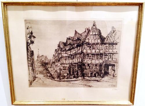 Amelie Ruths - Amelie Ruths, unten rechts mit Bleistift signiert kopen? Bied vanaf 110!