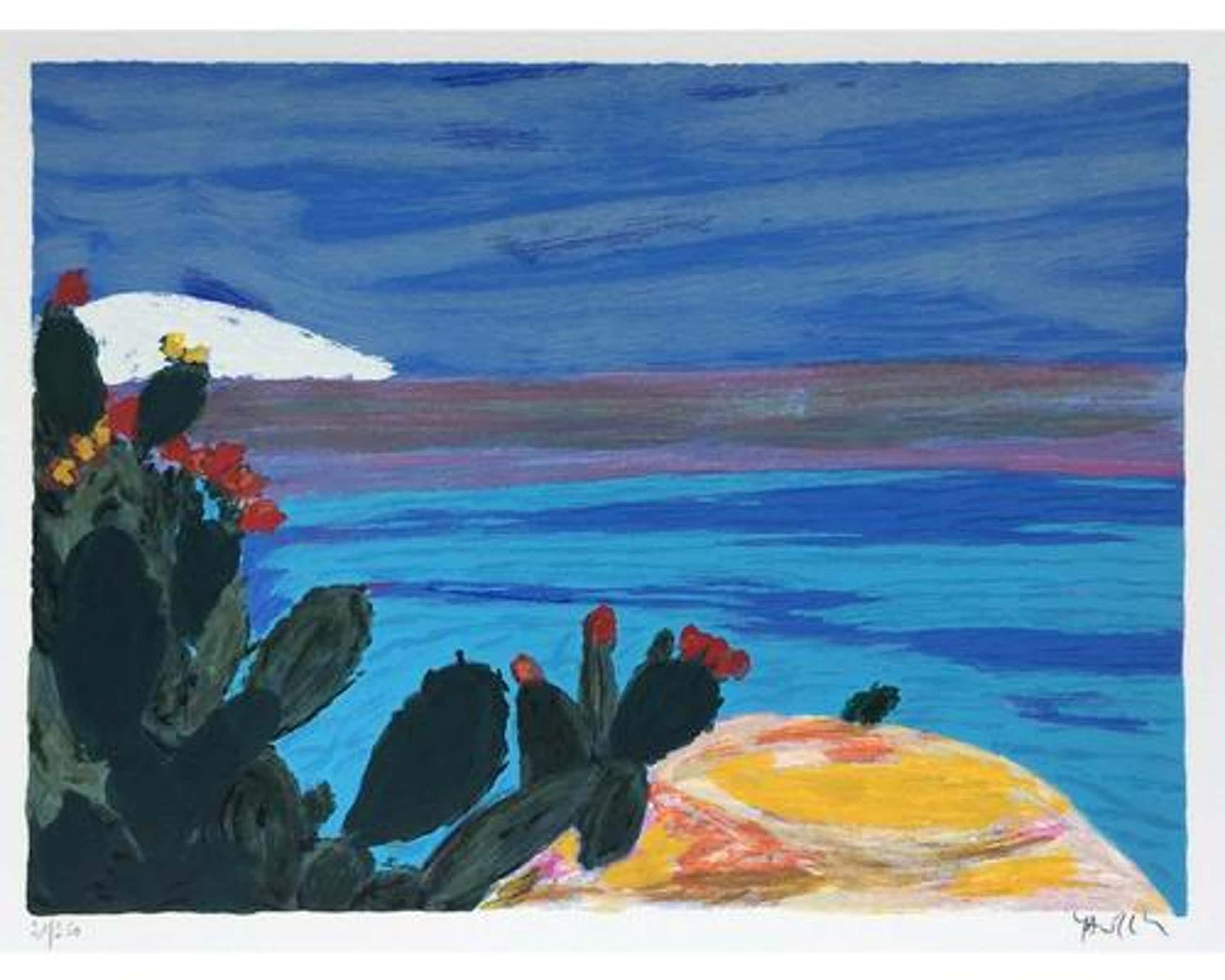 "Amos Yaskil - Amos Yaskil, Landschaft, Originalgrafik-Aus meinem Atelier"" kopen? Bied vanaf 175!"