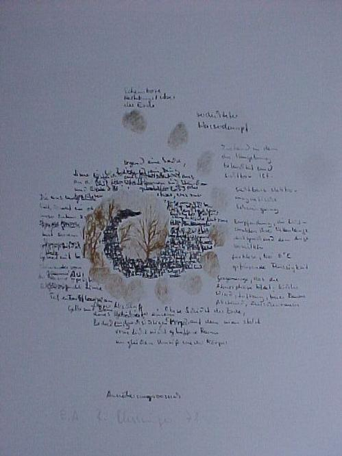 Reinhard Klessinger - Annäherungsversuch, Lithografie 1978 kopen? Bied vanaf 50!