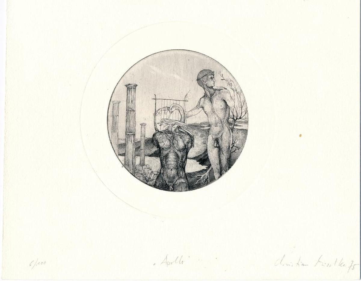 Christian Mischke - Apollo, Radierung, 1975 kopen? Bied vanaf 98!