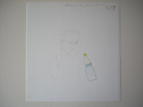 Silke Rehberg - Aquarellierte Originalzeichnung, UNIKAT, aus dem Jahr 2000. signiert, datiert und betitelt kopen? Bied vanaf 200!