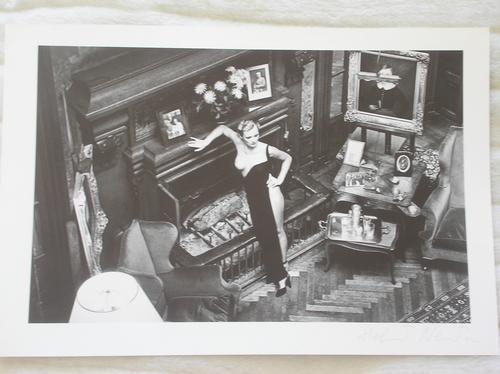 Helmut Newton - Arcanges, 1975, Vintage Photolitho handsigniert Helmut Newton kopen? Bied vanaf 600!