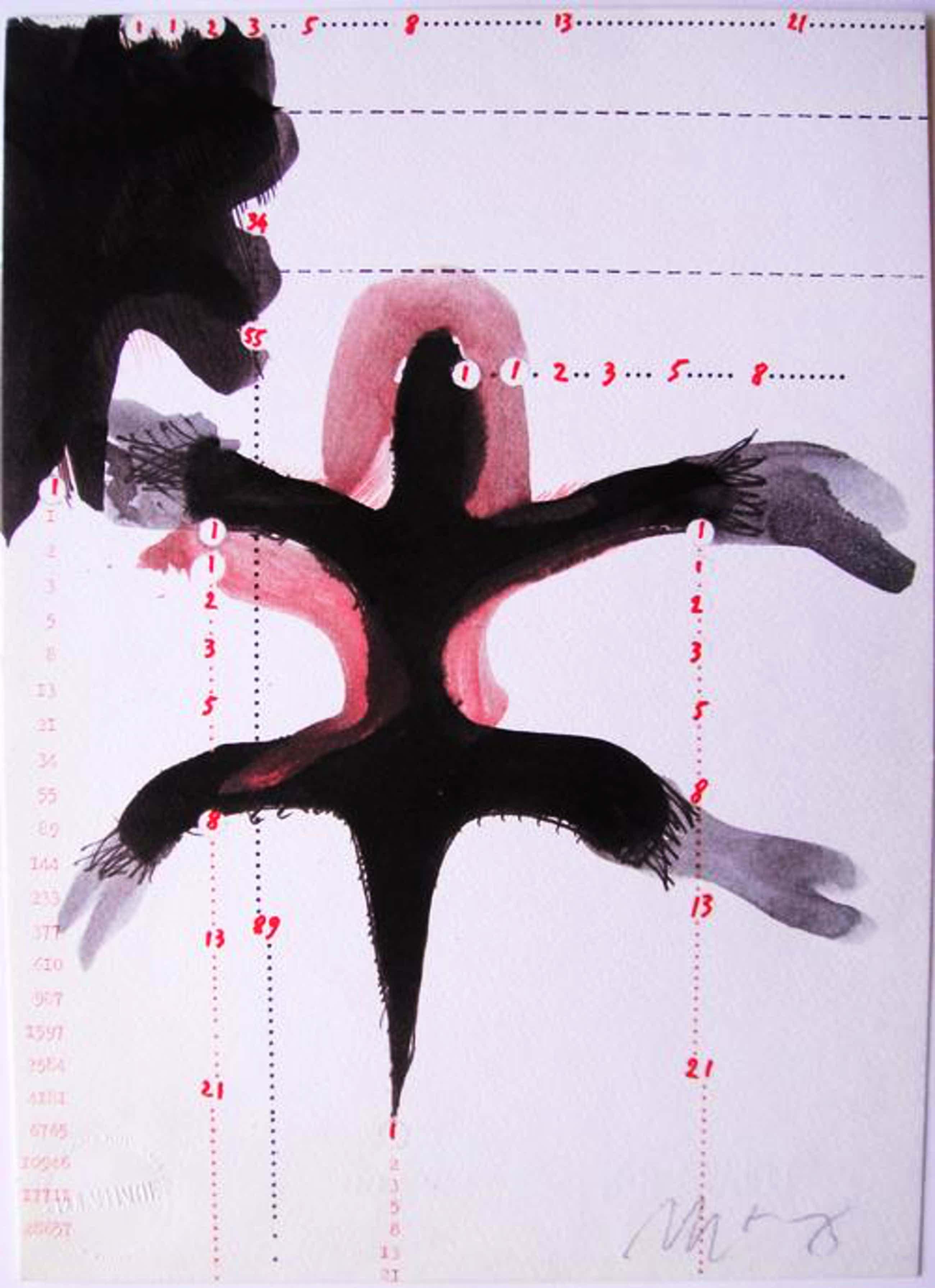 "Mario Merz - ARTE POVERA ""Melpomene"" Offset Lithographie - Handsigniert kopen? Bied vanaf 190!"