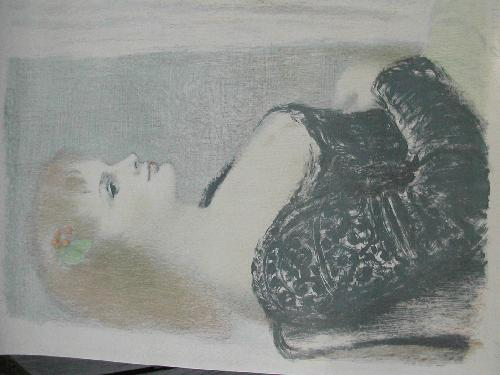 Arvid Mather - Arvid Mather Frauenbildnis Lithographie e.a. signiert kopen? Bied vanaf 170!