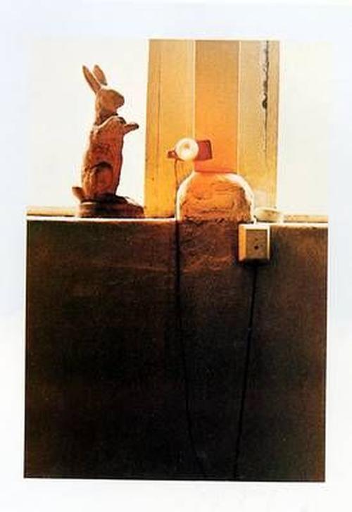 Joseph Beuys - Auguren (1982), Farboffsetlithographie, sign. kopen? Bied vanaf 390!