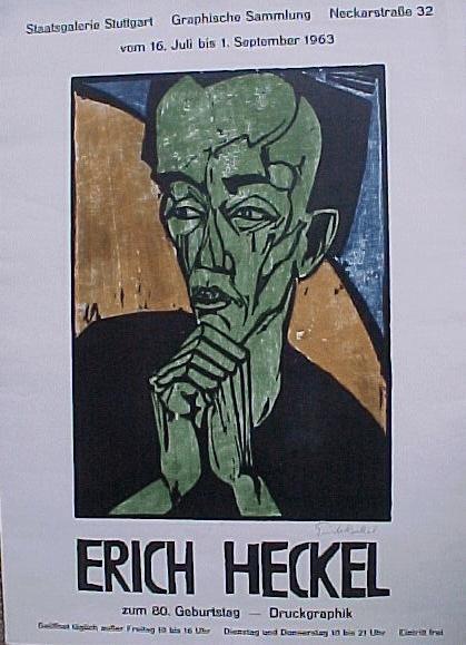 Erich Heckel - Ausstellungsplakat, 1963 kopen? Bied vanaf 40!