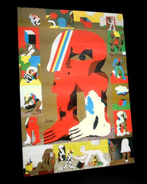 Horst Antes - Ausstellungsplakat Staatliche Kunsthalle Baden-Baden, Offsetlithographie 1971. kopen? Bied vanaf 65!