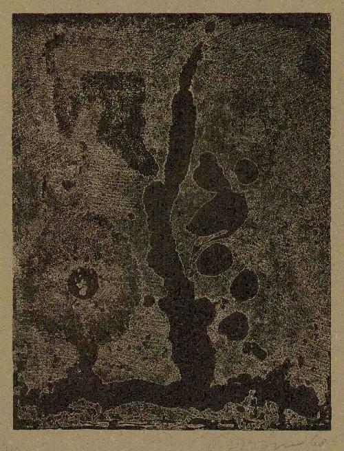 Pierre Baltensperger - BAHNHOF 1968 Handsignierte OriginalZinkätzung des SCHWEIZER Goldschmiedes & Kunstmalers (SPEKTRUM) kopen? Bied vanaf 46!