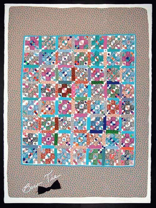 Barbara Kohl - Barbara Kohl-Spiro * * * Bow Tie * * * Jüdische QUILT FOLK ART kopen? Bied vanaf 58!