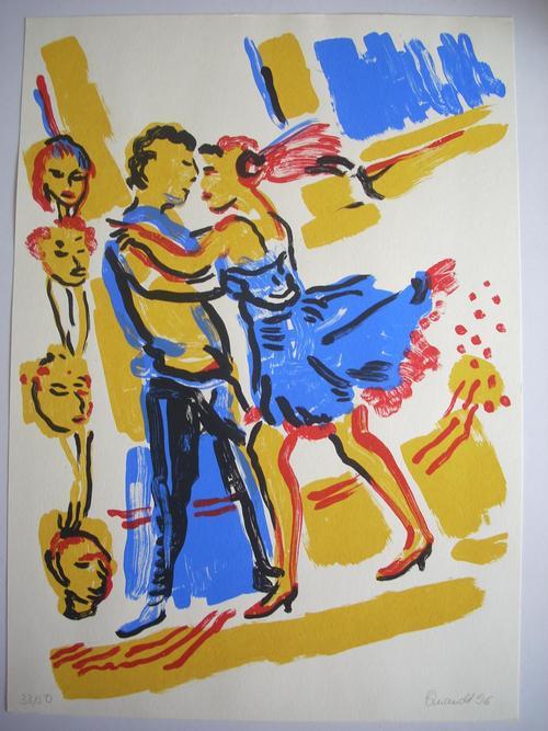 Barbara Quandt - Barbara Quandt, Original-Farblithographie von 1996, sign., datiert und num., Exemplar-Nr. 1/50 kopen? Bied vanaf 125!