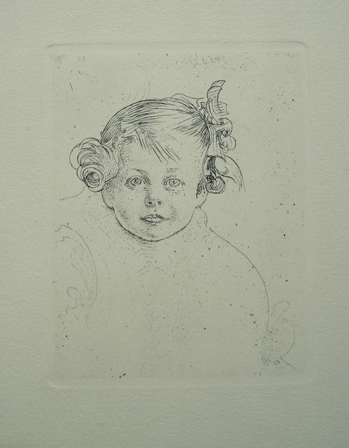 Carl Larsson - Barbro, Radierung (späterer Abzug des Verlages Hjert&Hjert) kopen? Bied vanaf 160!